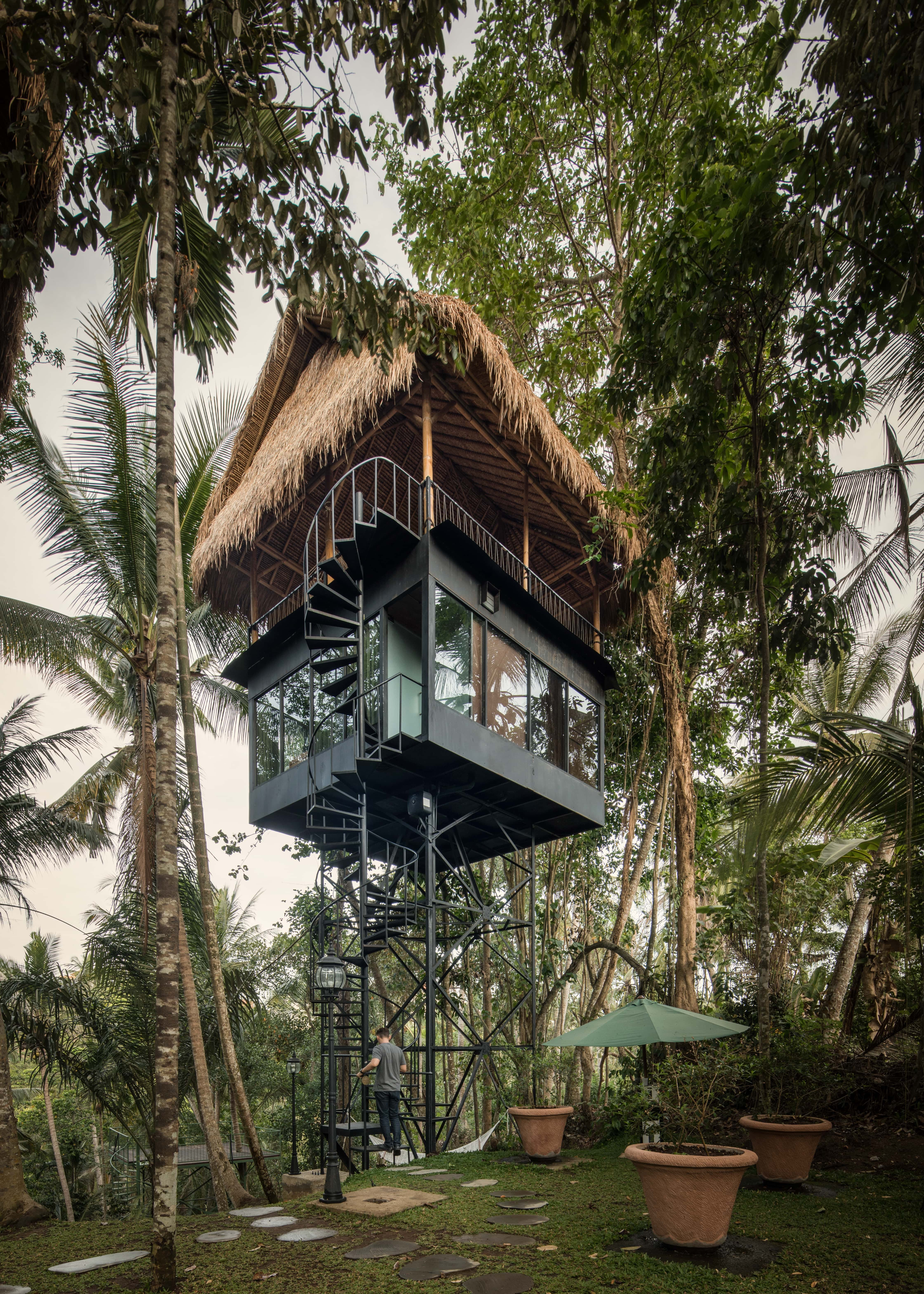 This Bali Based Treetop Hotel Gives Visitors An Off The Ground Experience News Archinect