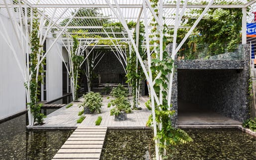 Hotel & Leisure - Completed Buildings Winner supported by GROHE: Cong Sinh Architects, Vegetable Trellis, Ho Chi Minh City, Vietnam.