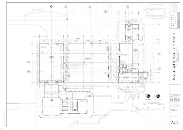 Ball Winery Floor Plan