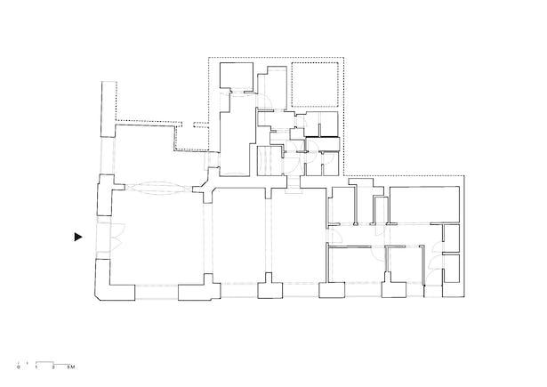 Ground Floor Plan – before reconstruction esté architekti