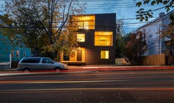 Yale SoA students complete triple-decker home for formerly homeless families