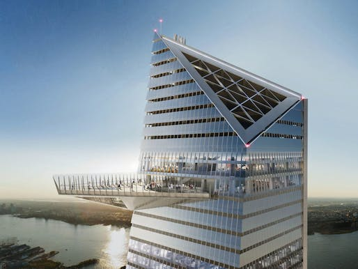 Rendering of the Hudson Yards Observation Deck. Image: Related Companies.