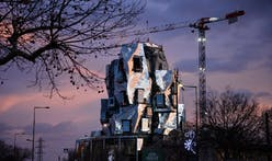 Take a look at Frank Gehry's shiny new Luma Arles tower