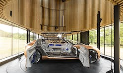 Marchi Architectes designs a portable home inspired by a concept car