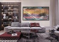 Artwork in interior design. by Hratch Israelian