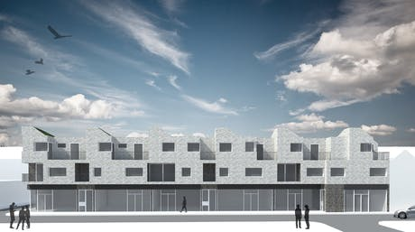 Successful pre-application meeting this week for 8 flat and 6 commercial units- no major comments!