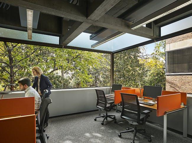 Richards Medical Research Laboratory Renovations in Philadelphia, PA by Atkin Olshin Schade Architects