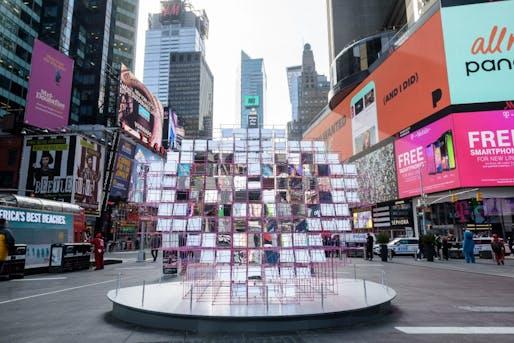 Photo: Ian Douglas for Times Square Arts.