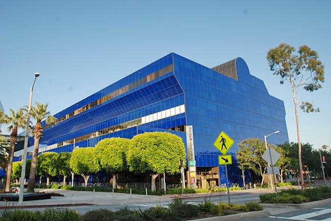 Pacific Design Center by Cesar Pelli