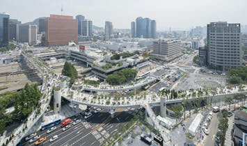 Korea's High Line, the MVRDV-designed Skygarden, opens in Seoul