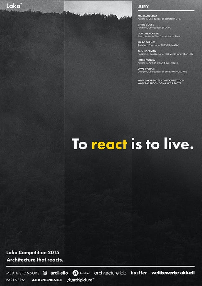 Register now for the Laka Competition 2015: Architecture that Reacts.