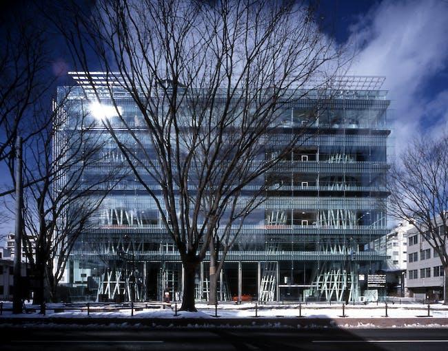 Sendai Mediatheque, 1995—2000, Sendai-shi, Miyagi, Japan Photo by Nacasa & Partners Inc.