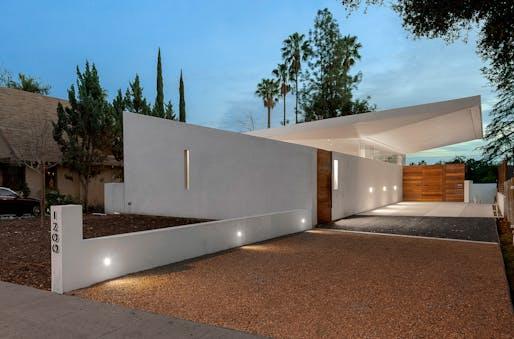 Callow Residence (Altadena, CA) by Corsini Stark Architects. Photo: Steve King.