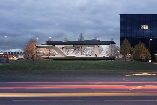 Tallinn Architecture Biennale Pavilion by Gilles Retsin. Photo: Studio Naaro.