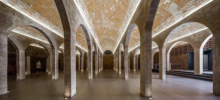 Rei Marti water deposit, Barcelona by Archikubik