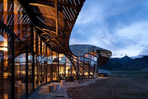 Winner in the Completed Building Hotel and Leisure category: Lindis Lodge by Architecture Workshop © Patrick Reynolds Photography