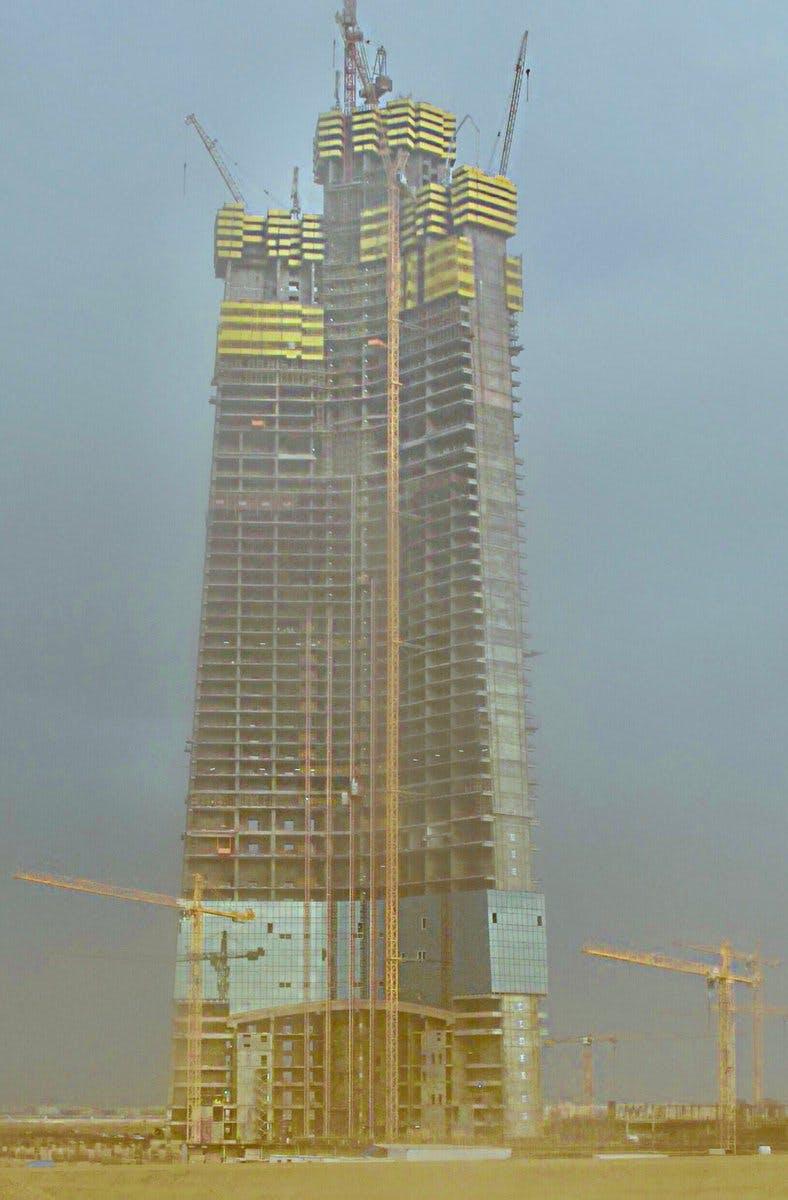 Jeddah Tower construction reaches 63rd floor | News | Archinect