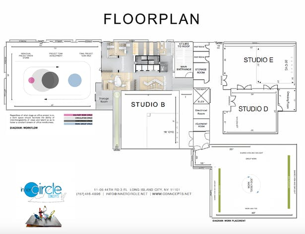 Full Overview Office Plan