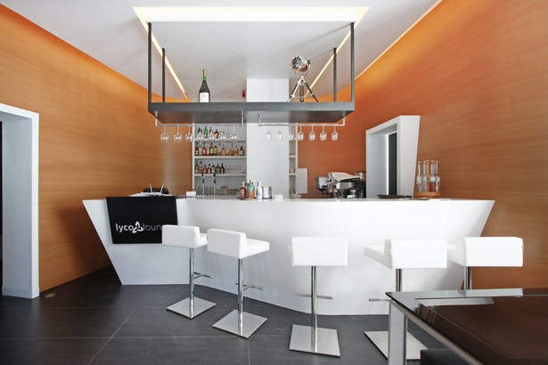 corian bar view