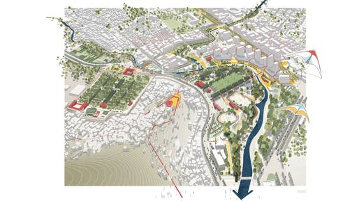 Kabul Urban Design Framework, Kabul, Afghanistan. Image © Sasaki Associates.