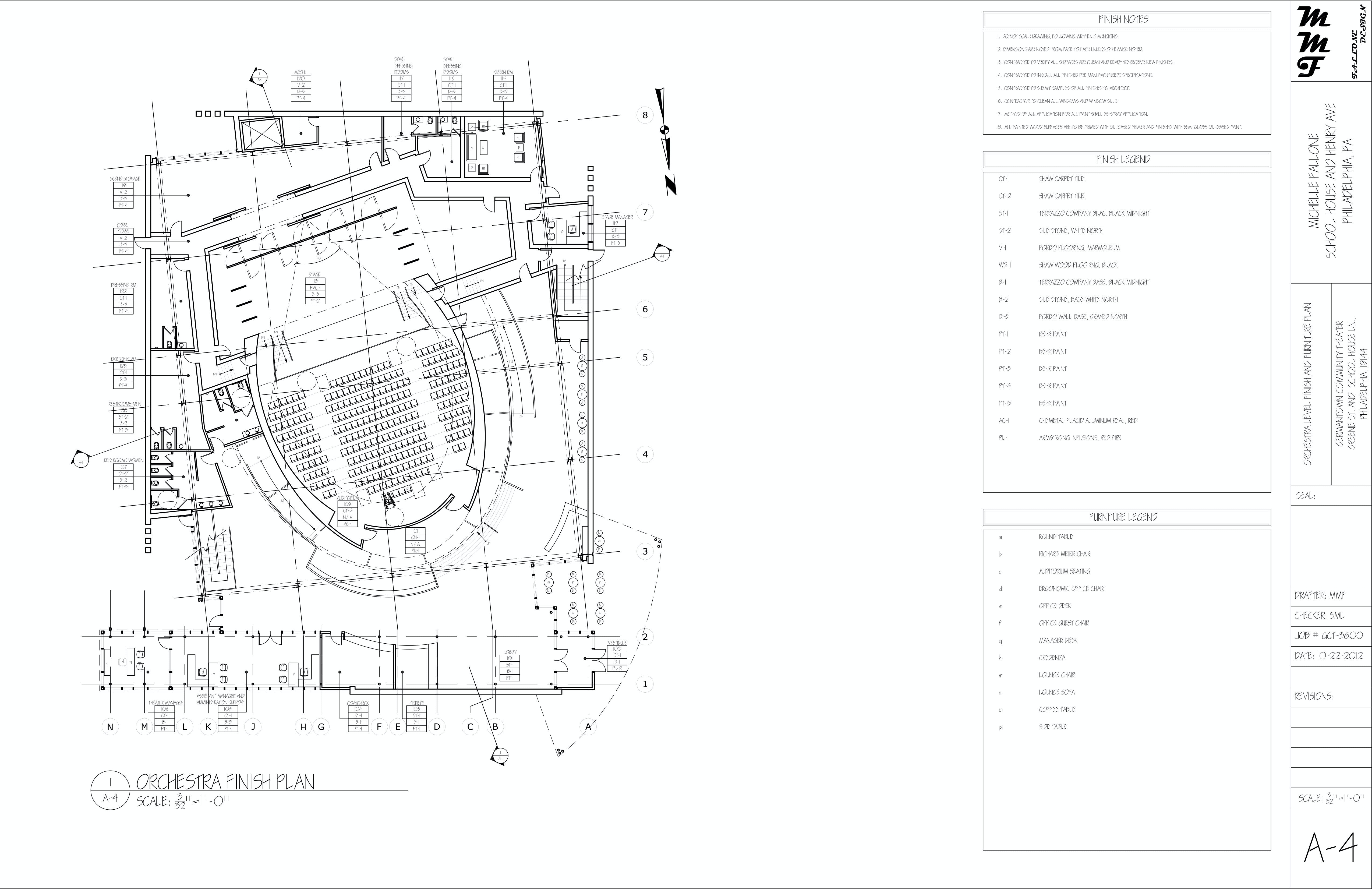 The Red Ruby Community Theater: Construction Documentation