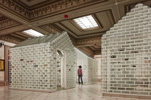 MASS Design Group's Gun Violence Memorial Project. Image courtesy of Chicago Architecture Biennial / Kendall McCaugherty