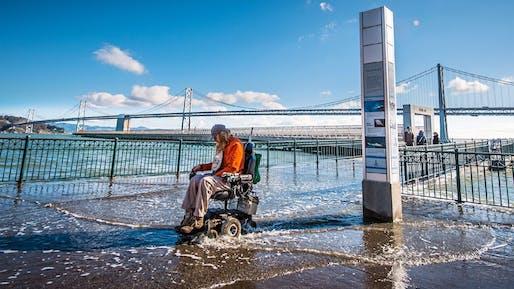 Sea-rise: coming to an urbanity near you. Image via kqed.com.