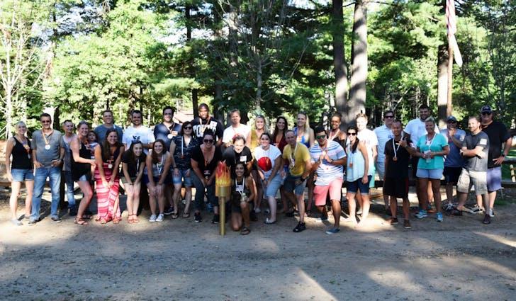 Amenta Emma Summer Olympics picnic. Photo courtesy of the firm.