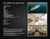 T.M.V. COSMOS Cruise Ship Renovation