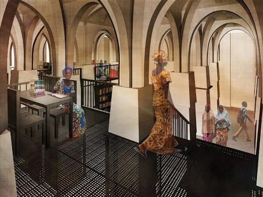 "Gold Award: ""Legacy Restored"" by Mariam Kamara - atelier masomi, Providence, USA; Yasaman Esmaili - studio chahar, Seattle, USA"