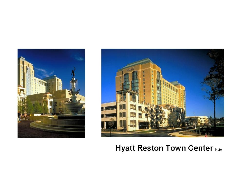 Reston town center hyatt