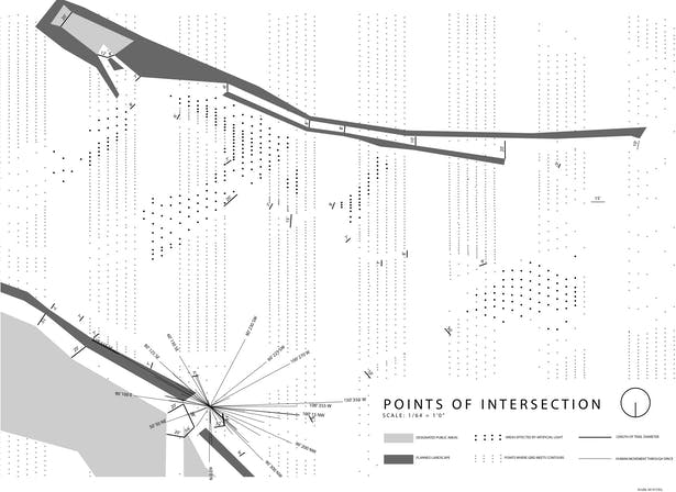 Points of Intersection, Griffith Park, Los Angeles, CA