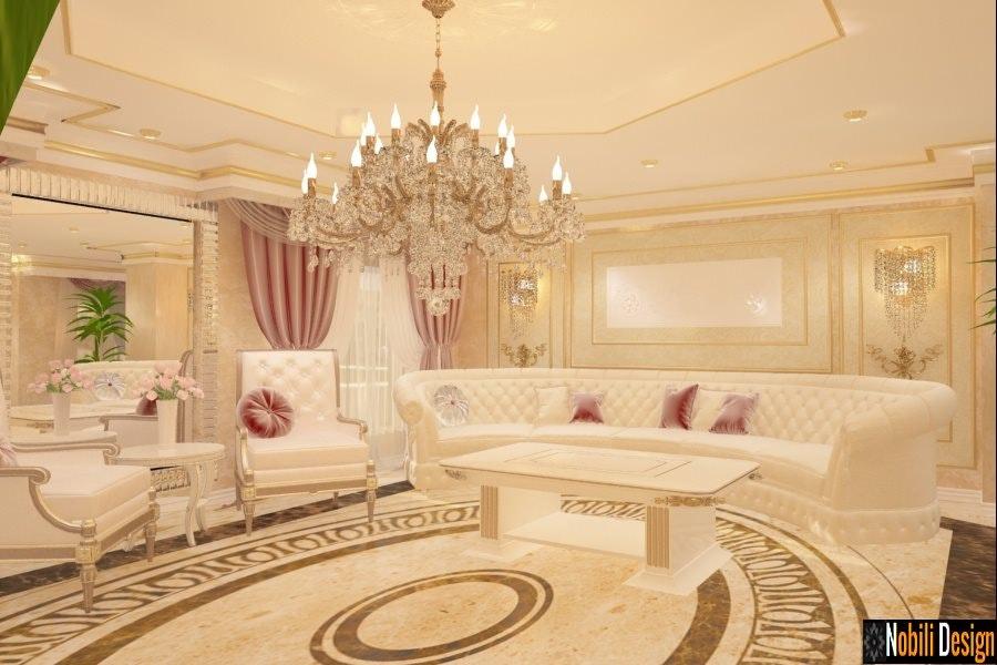 Draft classic interior design houses Bucharest Nobili
