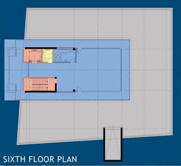 Sixth Floor Plan (Tower)
