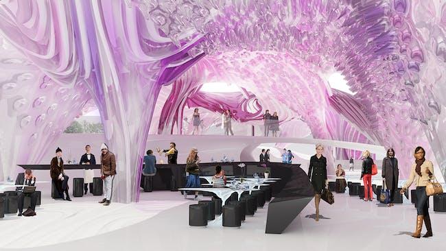 Restaurant interior. Image courtesy of thinkTANK.