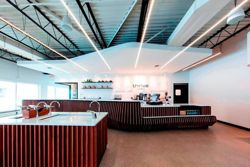 Commercial Interior: Thrive Juicery by Synecdoche Design (USA)