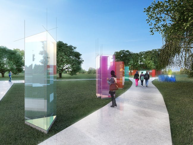 Prism Forest design by Ampdesign