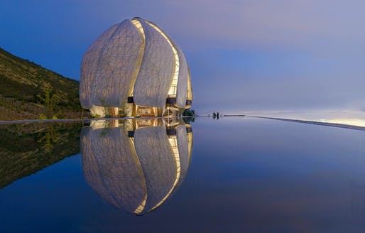 Bahá'í Temple of South America by Hariri Pontarini Architects. Winner in 'Cultural Architecture' category.