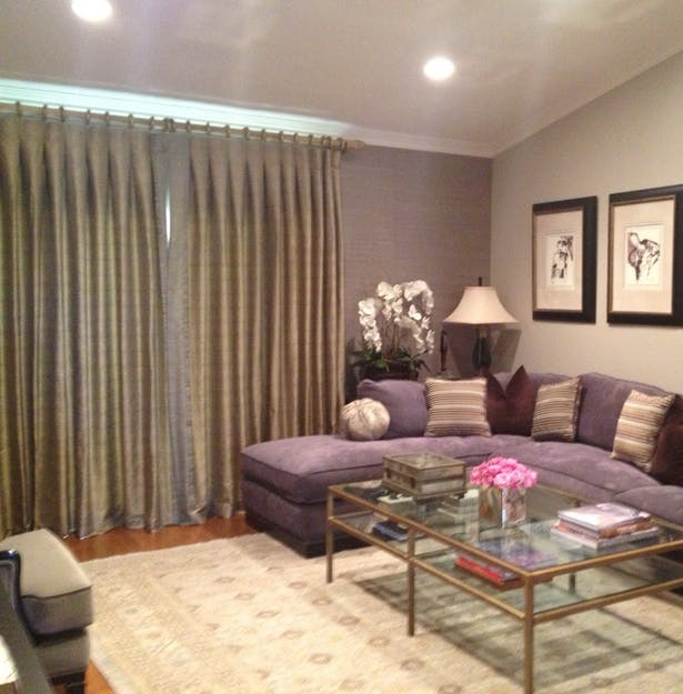 The Custom Sectional in the Space,