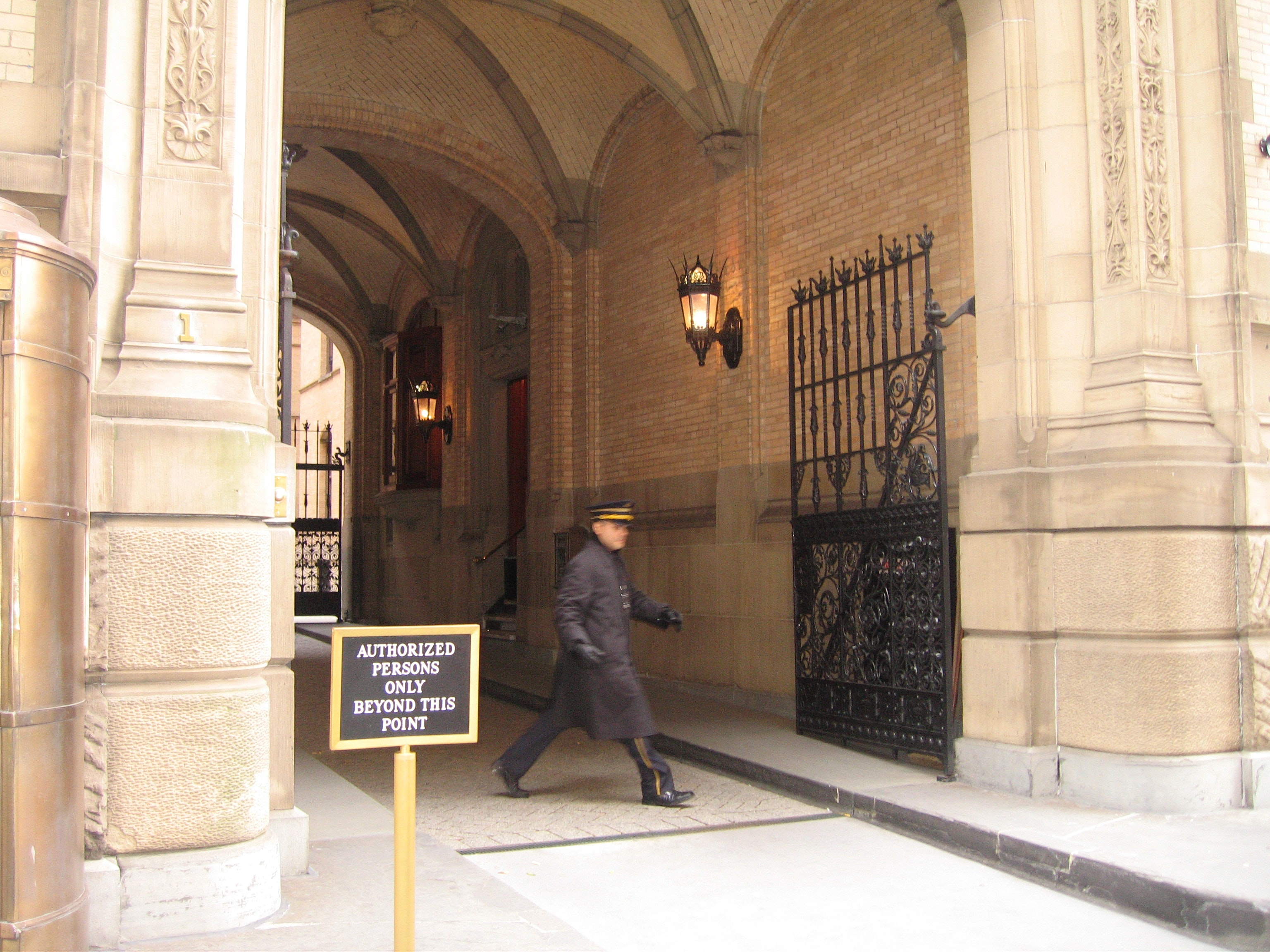 Doorman at the Dakota in NYC. Image via Wikipedia. : poor door - pezcame.com