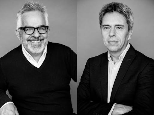 Gilles Saucier & André Perrotte. Photo: Justine Latour.
