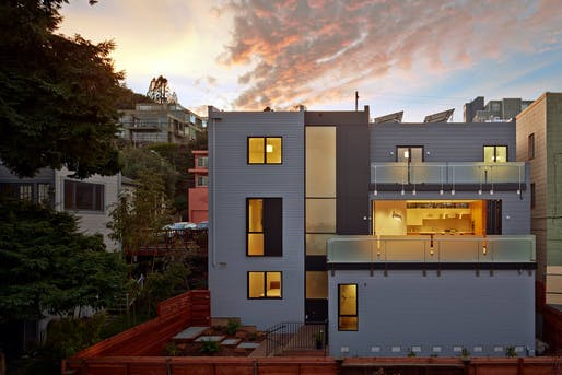 Noe Street Residence, San Francisco CA by Studio VARA. Photo: Bruce Damonte.
