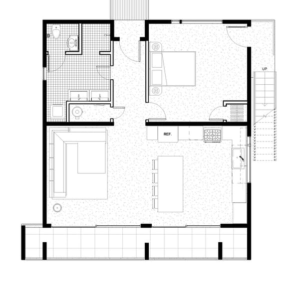 Proposed St. Thomas House Clifford O. Reid Architect. All Rights Reserved