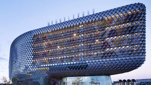 South Australian Health and Medical Research Institute by Woods Bagot. Photo © Woods Bagot