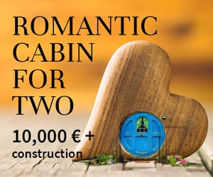Romantic Cabin For Two