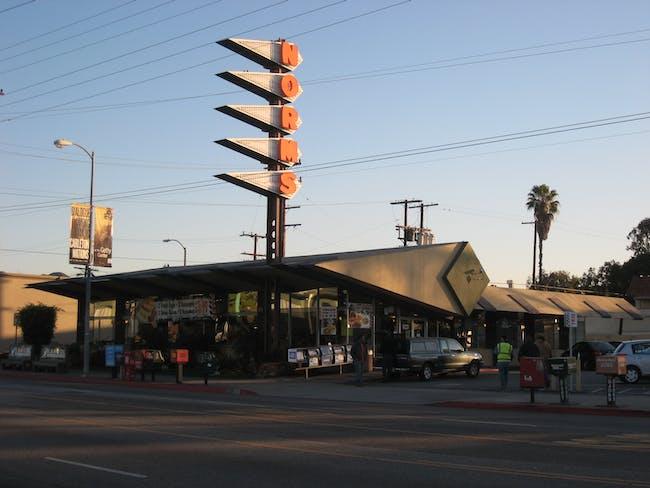 Norms on La Cienega in Los Angeles, image via Wikipedia.