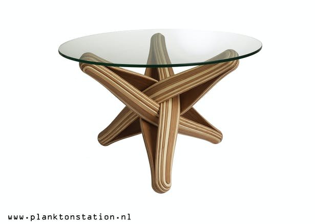 LOCK coffee table :what you can do with bamboo