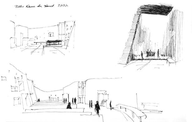 Notre Dame du Haut, Ronchamp, Le Corbusier
