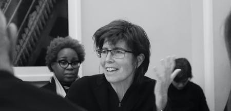 Elizabeth Diller speaks at the Columbia GSAPP. Image: flickr.