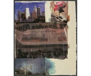 Rauschenberg: In and About L.A.